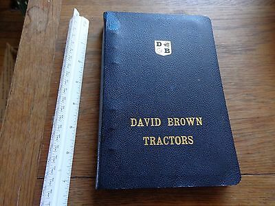 David Brown Dealer Price book for Tractors and Implements late 1960s to 1972