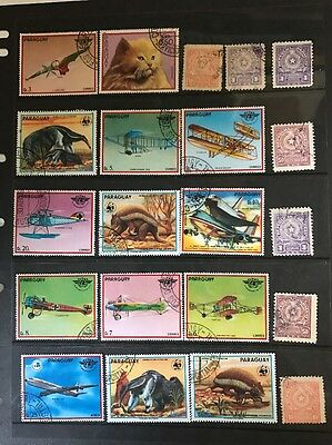 stamps  Paraguay - Used - Lot 513