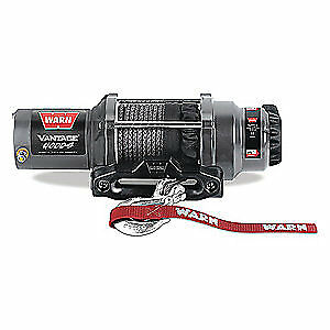 WARN Electric Winch,1-2/5HP,12VDC, VANTAGE 4000 - S