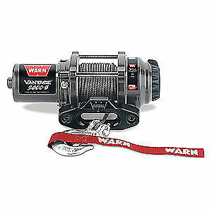 WARN Electric Winch,1/11HP,12VDC, VANTAGE 2000 - S