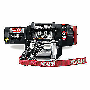 WARN Electric Winch,1-2/5HP,12VDC, PRO VANTAGE 3500