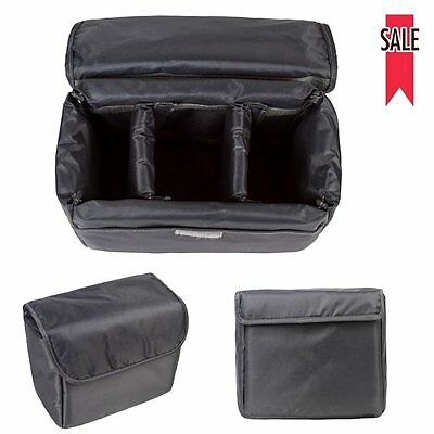 Waterproof Shockproof Camera Insert Case Travel Carry Bag For Canon Nikon Sony