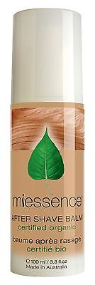 Miessence Certified Organic After Shave Balm - 100% Natural 100ml