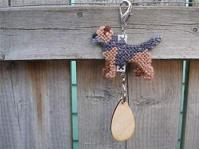 Border Terrier #2 dog crate tag or hang anywhere pet art everyday ornament