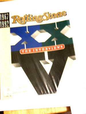 Rolling Stone magazine  #641 Oct  1992  XXV 1967 -1992 25th Anv issue Exc+