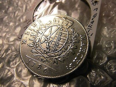 Germany 1786-IEC Saxony Thaler Silver Coin