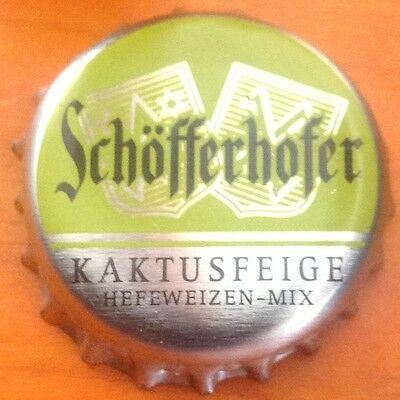 Schöfferhofer Kaktusfeige Kronkorken - Bottle Cap - Crown Cap - Deutschland