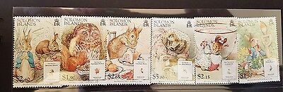 Solomon Island Stamp Beatrix Potter set Peter Rabbit