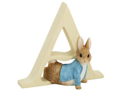 NEW Beatrix Potter Alphabet Initial A Peter Rabbit