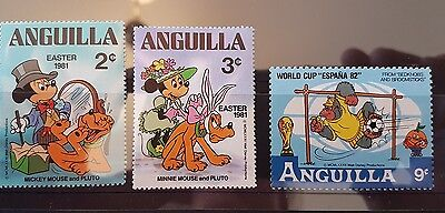 Disney stamps. mint. Anguilla