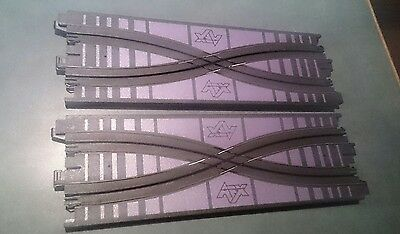 Aurora Afx Cross Over Track Pieces Slot Car Track Set Tomy