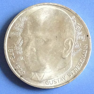 1978 D Germany Silver 5 Mark Coin