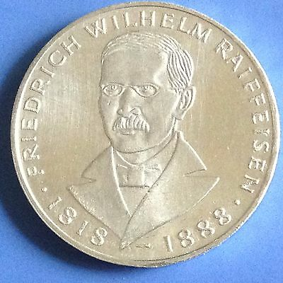1968 Germany Silver 5 Mark Coin