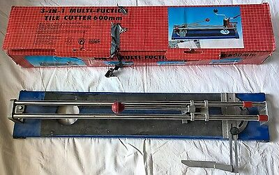 600mm Manual Tile Cutter Ceramic Cutting Machine for large tiles