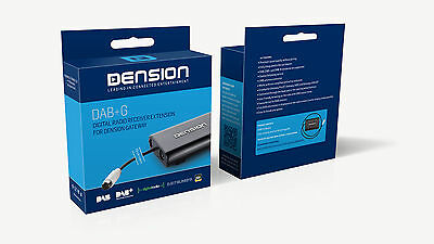 Dension DAB for GW500S&GWP with text, Digital Radio Receiver Extension for GW