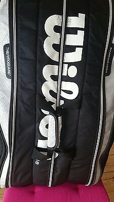Wilson Tour 9 racket bag used