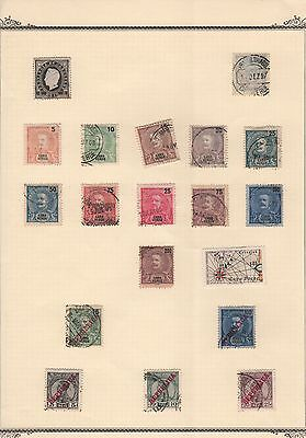 Portuguese Colony Cape Verde,Album Page Starting From 1886