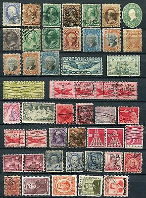 Early USA mixed states, Argentina, South America collection of 187 stamps.