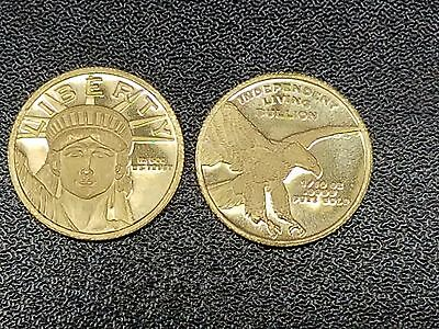 Independent Living Bullion Gold Coin - 1/10 Oz. .9999 - Unc - See Pics!