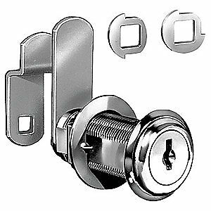 COMPX NATIONAL Standard Keyed Cam Lock, Key C642A, C8060-C642A-14A
