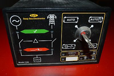 Deep Sea model 530 automatic mains/generator change over controller