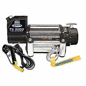 SUPERWINCH Electric Winch,5-1/5HP,12VDC, 1595200