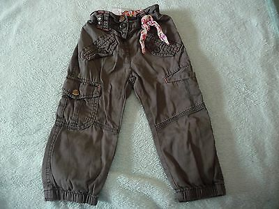 ** FAB Baby Girl Cargo Style Trousers - Next (12 - 18 months) **