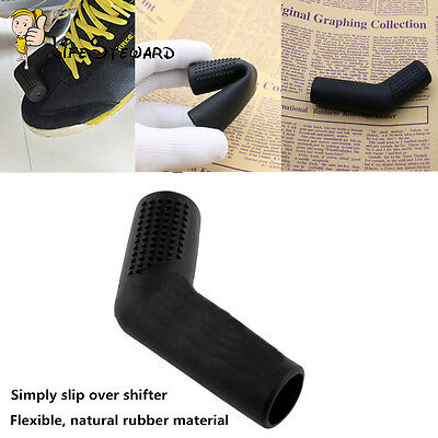 Motorcycle Rubber Shift Sock Shift Cover Boot Shoe Protector Gear Shifter Black