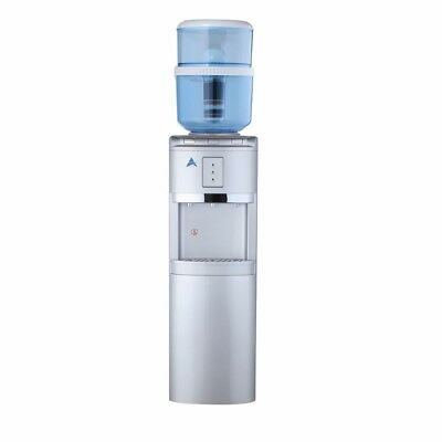 NEW Water Cooler Heater Silver Awesome Water Filter H20 Silver Free Standing