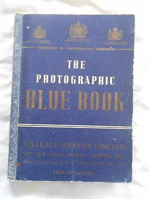 Vintage Photography Book The Photographic Blue Book  1959/60 Edition