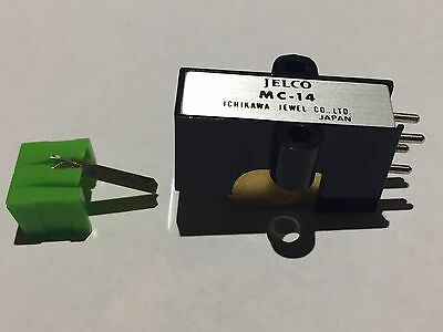 JELCO MC-14 Cartridge and Near New Stylus Rare for Record Player/Turntable