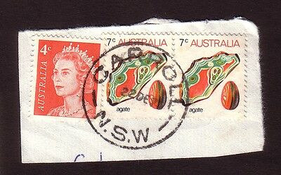 1973 New South Wales postmark - CARROLL