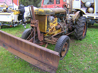 Fordson Major E27N Petrol with front dozer blade, Ideal Garden Ornament.