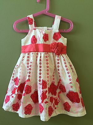 Pumpkin Patch Size 3 NWT Gorgeous Pink Flower Dress Party Summer Christmas