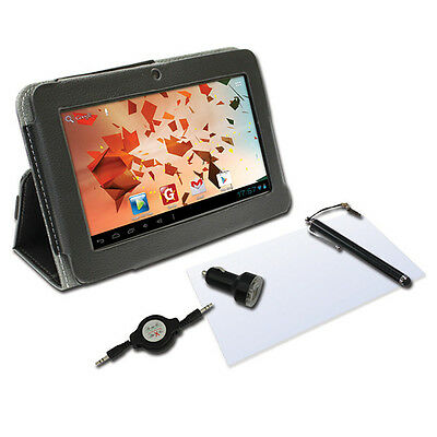 """Thomson Black 5 In 1 Accessory For 17.75Cm (7"""") Tablet Pc New"""