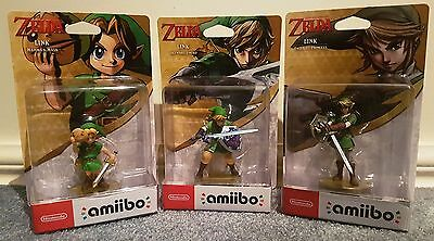 Legend Of Zelda Amiibo: Link Majoras Mask, Twilight Princess & Skyward Sword!