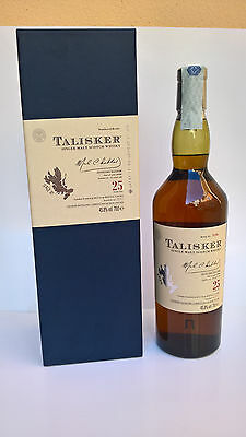 RARE WHISKY TALISKER 25 Years - Vol. 45,8% - Bottle N°5156 - Limited Edition