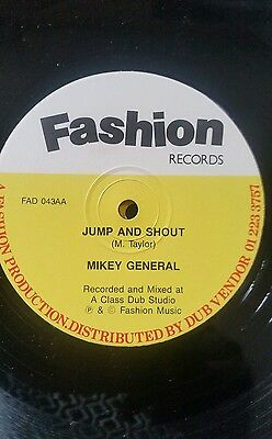 "Mikey General  ‎– Sound Doctor / Jump And Shout  Reggae  12"" Vinyl  Record"