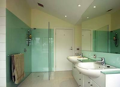 Pastel green wall lining sheets for showers and wet rooms 2.4m x 1.2m x .2.5mm