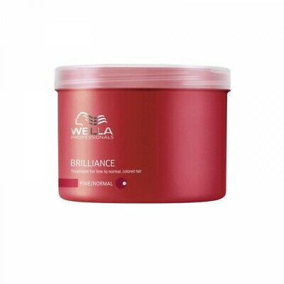 WELLA Brilliance Maske Professionals Care gefärbtes dünnes normales Haar 500 ml