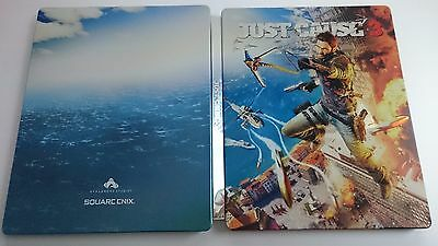 Just cause 3 : Steelbook Vide/empty [Collector - PS4/XboxOne - G2]