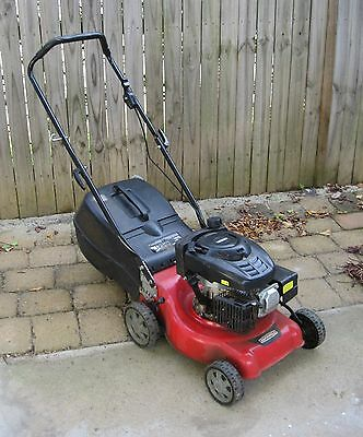 Rockwell RG8764  Petrol LawnMower with Briggs and Stratton 139cc 4 Stroke engine