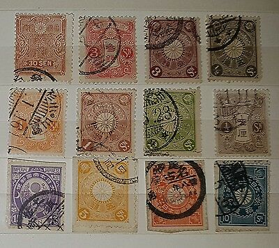 JAPAN Mixed Used Unchecked Stamps (No200)