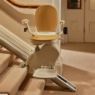 Reconditioned Acorn/Stannah straight stairlift, fitted with a 12 month warranty