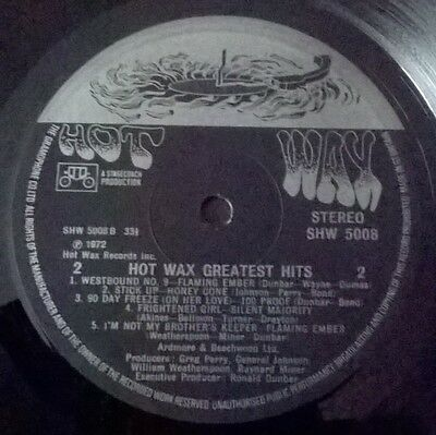 Hot Wax Greatest Hits - Hot Wax Records - Northern Soul Various Artists