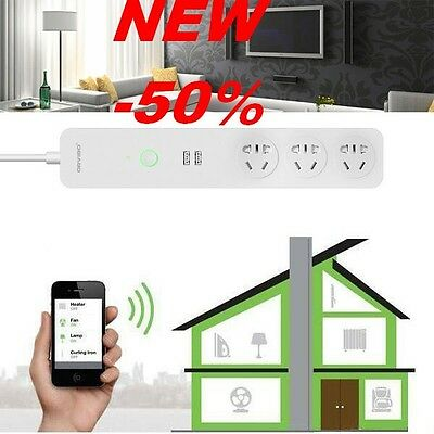 ORVIBO COCO USB WiFi Smart Home Extension Sockets Switches RemoteControl Timing