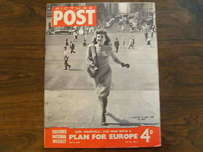 PICTURE POST - 5th JULY 1947 - Vol. 36  Number 1 - PLAN FOR EUROPE