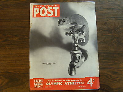PICTURE POST - 3rd JULY 1948 - Vol. 40  Number 1 - OLYMPIC ATHLETES