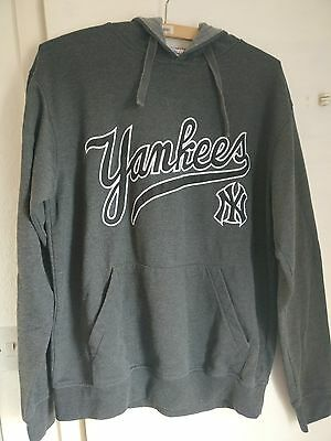 New York Yankees grey hoody jumper size L unisex
