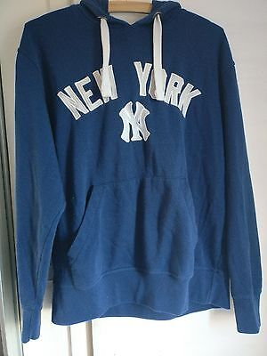 Hoody Navy Blue, New York Yankees size M